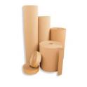Cartón ondulado y papel kraf