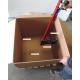 Grampeador ergonómico para grampear caixas de papelão sobre palete DPWS