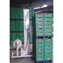 Horizontal pallet Strapping