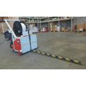 Flejadora semi-automática para palets con lanza